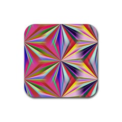Star A Completely Seamless Tile Able Design Rubber Square Coaster (4 pack)