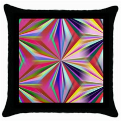 Star A Completely Seamless Tile Able Design Throw Pillow Case (Black)
