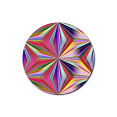 Star A Completely Seamless Tile Able Design Rubber Coaster (round)