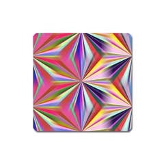 Star A Completely Seamless Tile Able Design Square Magnet