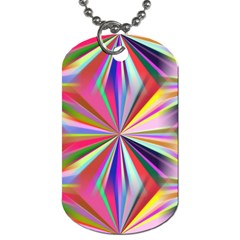 Star A Completely Seamless Tile Able Design Dog Tag (Two Sides)