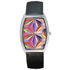 Star A Completely Seamless Tile Able Design Barrel Style Metal Watch
