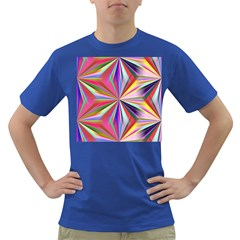 Star A Completely Seamless Tile Able Design Dark T Shirt