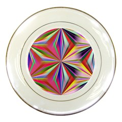 Star A Completely Seamless Tile Able Design Porcelain Plates