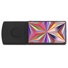 Star A Completely Seamless Tile Able Design Usb Flash Drive Rectangular (4 Gb)