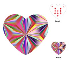 Star A Completely Seamless Tile Able Design Playing Cards (Heart)