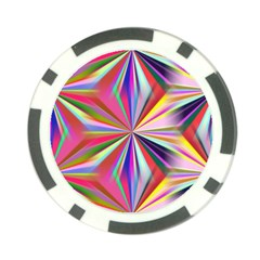 Star A Completely Seamless Tile Able Design Poker Chip Card Guard (10 pack)