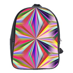 Star A Completely Seamless Tile Able Design School Bags(Large)
