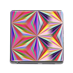 Star A Completely Seamless Tile Able Design Memory Card Reader (square)