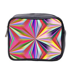 Star A Completely Seamless Tile Able Design Mini Toiletries Bag 2 Side