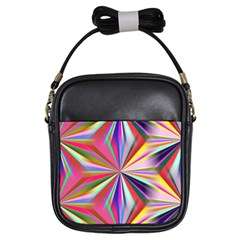 Star A Completely Seamless Tile Able Design Girls Sling Bags
