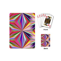 Star A Completely Seamless Tile Able Design Playing Cards (Mini)