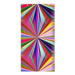 Star A Completely Seamless Tile Able Design Shower Curtain 36  x 72  (Stall)