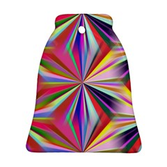 Star A Completely Seamless Tile Able Design Bell Ornament (Two Sides)