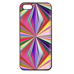 Star A Completely Seamless Tile Able Design Apple iPhone 5 Seamless Case (Black)