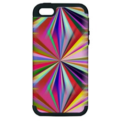 Star A Completely Seamless Tile Able Design Apple iPhone 5 Hardshell Case (PC+Silicone)