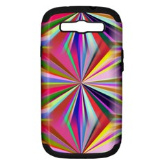 Star A Completely Seamless Tile Able Design Samsung Galaxy S Iii Hardshell Case (pc+silicone)