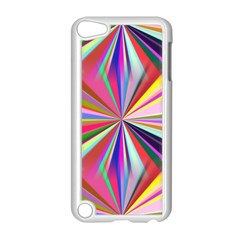 Star A Completely Seamless Tile Able Design Apple iPod Touch 5 Case (White)