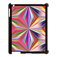 Star A Completely Seamless Tile Able Design Apple iPad 3/4 Case (Black)