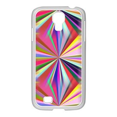 Star A Completely Seamless Tile Able Design Samsung Galaxy S4 I9500/ I9505 Case (white)