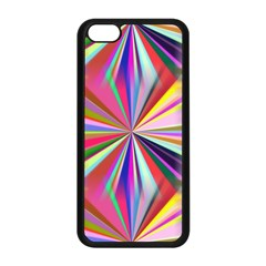 Star A Completely Seamless Tile Able Design Apple iPhone 5C Seamless Case (Black)