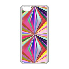 Star A Completely Seamless Tile Able Design Apple iPhone 5C Seamless Case (White)