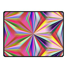 Star A Completely Seamless Tile Able Design Double Sided Fleece Blanket (small)