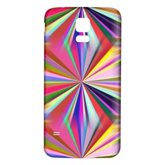 Star A Completely Seamless Tile Able Design Samsung Galaxy S5 Back Case (white)