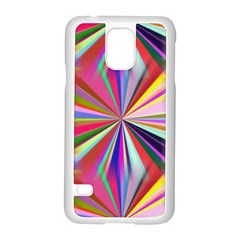 Star A Completely Seamless Tile Able Design Samsung Galaxy S5 Case (White)