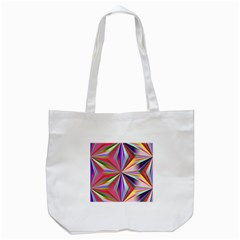 Star A Completely Seamless Tile Able Design Tote Bag (White)
