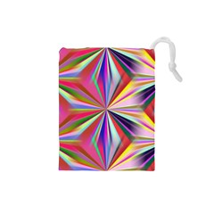 Star A Completely Seamless Tile Able Design Drawstring Pouches (small)