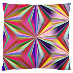 Star A Completely Seamless Tile Able Design Large Flano Cushion Case (Two Sides)