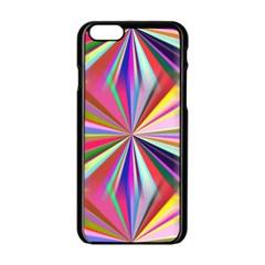 Star A Completely Seamless Tile Able Design Apple Iphone 6/6s Black Enamel Case
