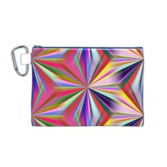 Star A Completely Seamless Tile Able Design Canvas Cosmetic Bag (m)