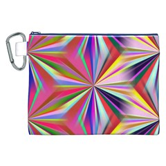 Star A Completely Seamless Tile Able Design Canvas Cosmetic Bag (XXL)