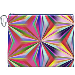 Star A Completely Seamless Tile Able Design Canvas Cosmetic Bag (xxxl)