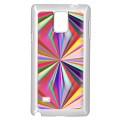 Star A Completely Seamless Tile Able Design Samsung Galaxy Note 4 Case (white)