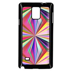 Star A Completely Seamless Tile Able Design Samsung Galaxy Note 4 Case (Black)