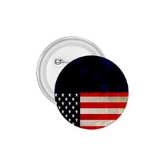 Grunge American Flag Background 1 75  Buttons