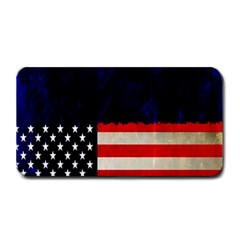 Grunge American Flag Background Medium Bar Mats