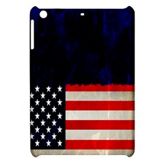 Grunge American Flag Background Apple iPad Mini Hardshell Case