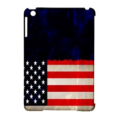 Grunge American Flag Background Apple iPad Mini Hardshell Case (Compatible with Smart Cover)