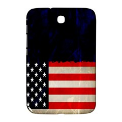 Grunge American Flag Background Samsung Galaxy Note 8.0 N5100 Hardshell Case