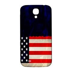 Grunge American Flag Background Samsung Galaxy S4 I9500/I9505  Hardshell Back Case