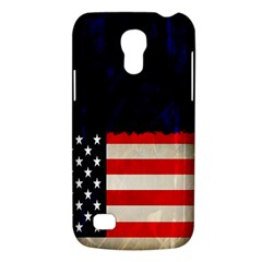Grunge American Flag Background Galaxy S4 Mini