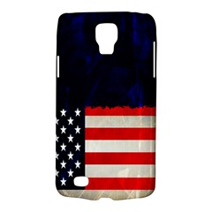 Grunge American Flag Background Galaxy S4 Active