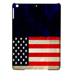 Grunge American Flag Background iPad Air Hardshell Cases