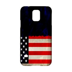 Grunge American Flag Background Samsung Galaxy S5 Hardshell Case