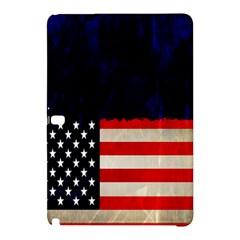 Grunge American Flag Background Samsung Galaxy Tab Pro 10.1 Hardshell Case