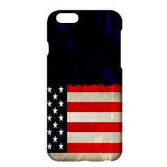 Grunge American Flag Background Apple Iphone 6 Plus/6s Plus Hardshell Case
